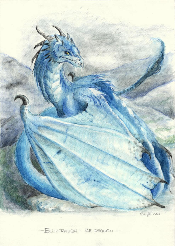 Blizzaragon Ice Dragon