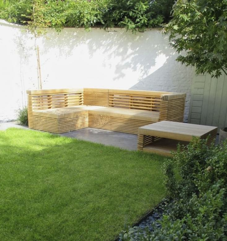 pallet seating outdoor - Garden Design Trends 2016