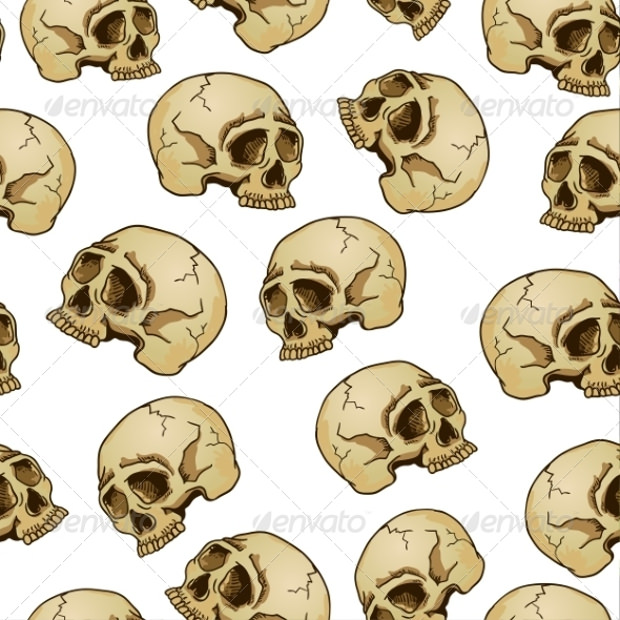 Pretty Skull Design Pattern