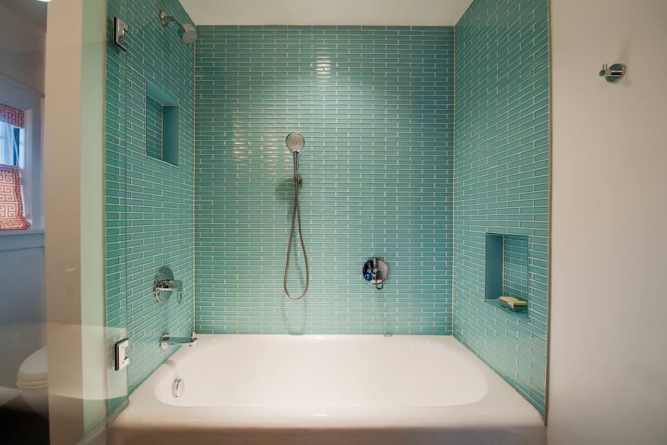 25 Bathtub Tile Designs Decorating Ideas Design Trends