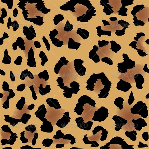 Leopard Skin Beautiful Pattern