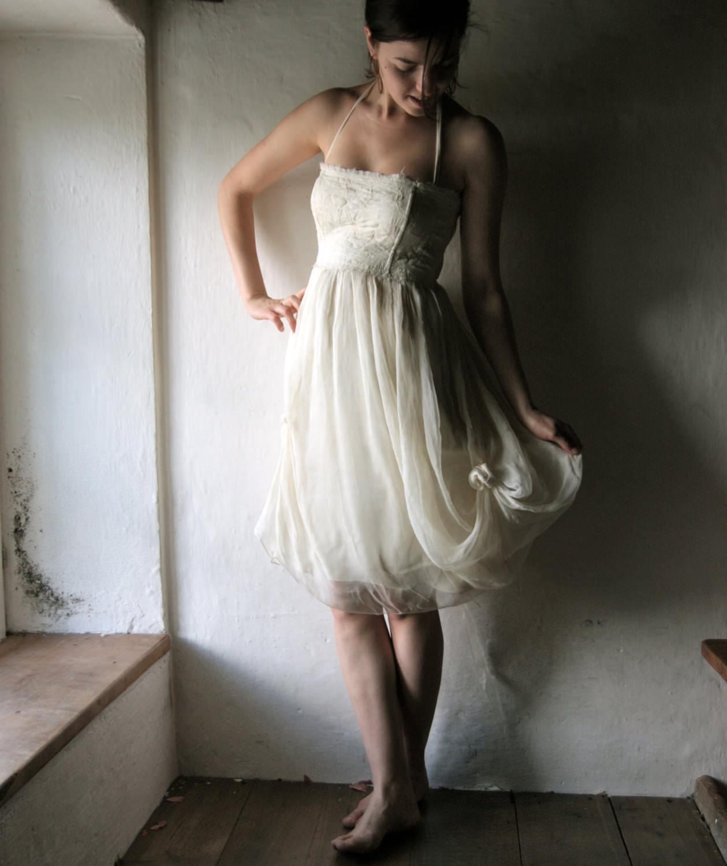 Classy Cute Short Wedding Dress