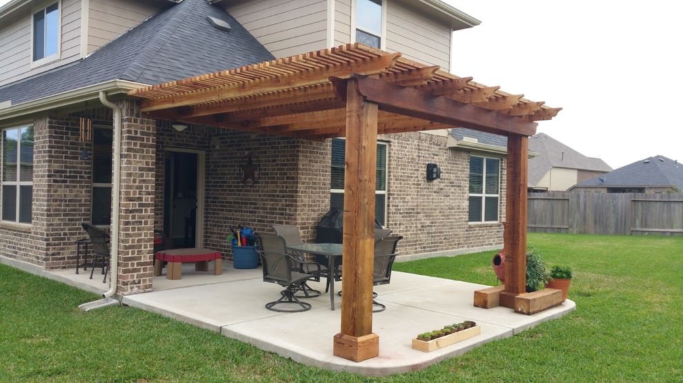 22 patio cover designs ideas plans design trends for Patio cover design plans