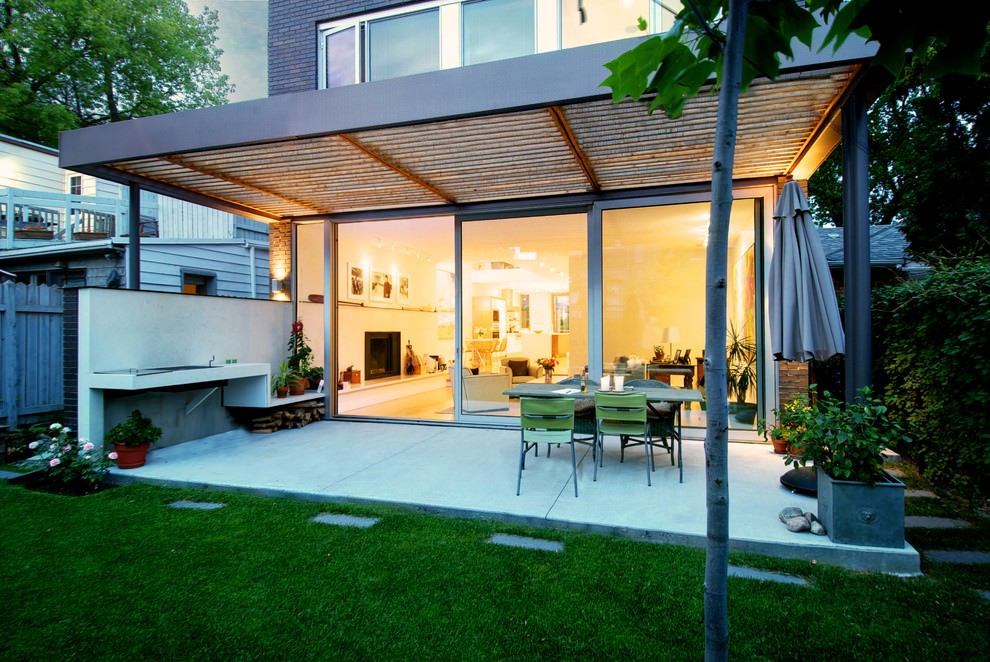 Modern Patio Cover Design