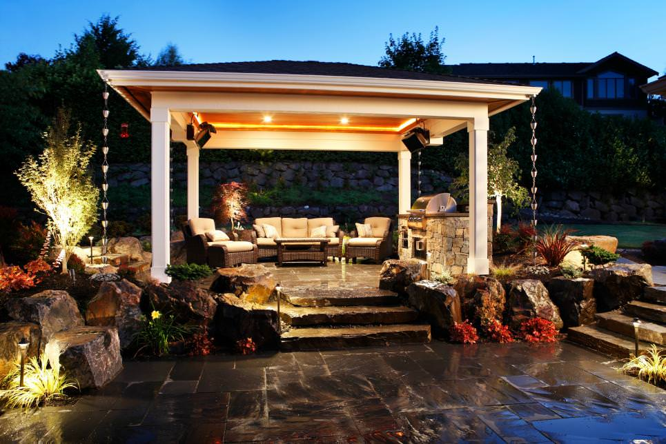 Serene Patio Cover Design