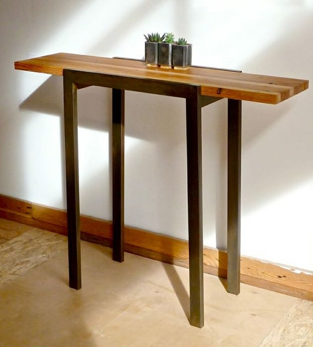 20 handcrafted industrial furniture designs ideas for Portland reclaimed wood furniture