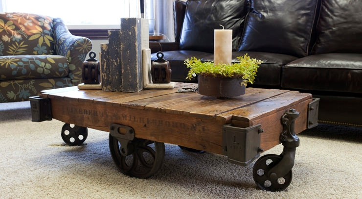 Handcrafted Amish Industrial Furniture