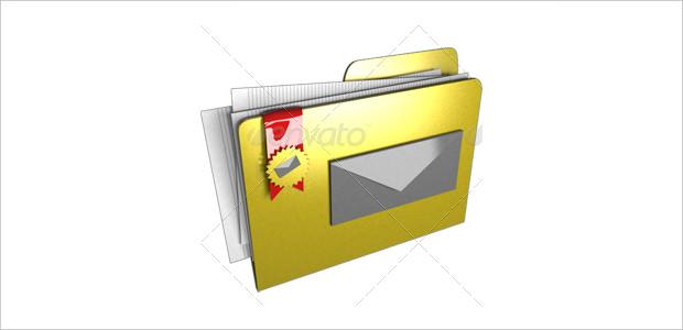 8 Nice 3d Folder Icons
