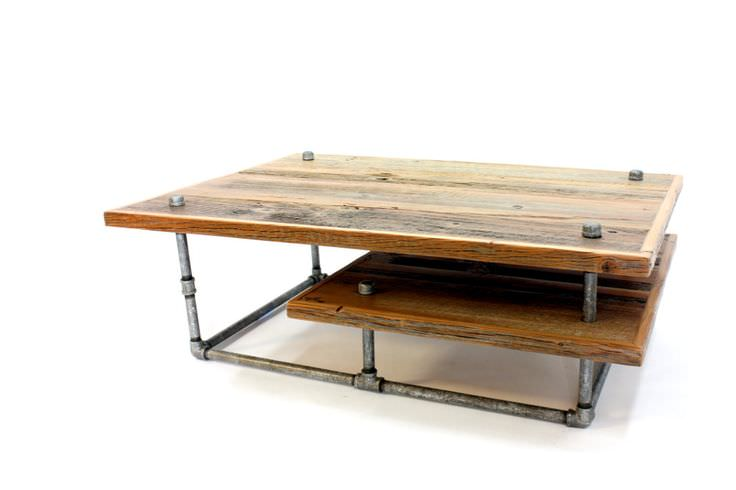 Modern Industrial Furniture 20+ handcrafted industrial furniture, designs, ideas, plans