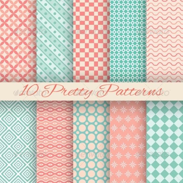 Classy Pastel Patterns