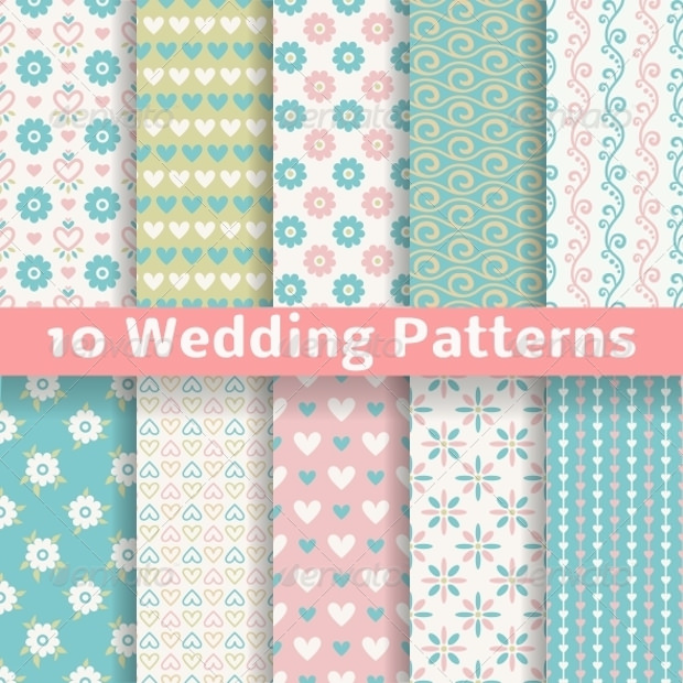 Wedding Pastel Patterns