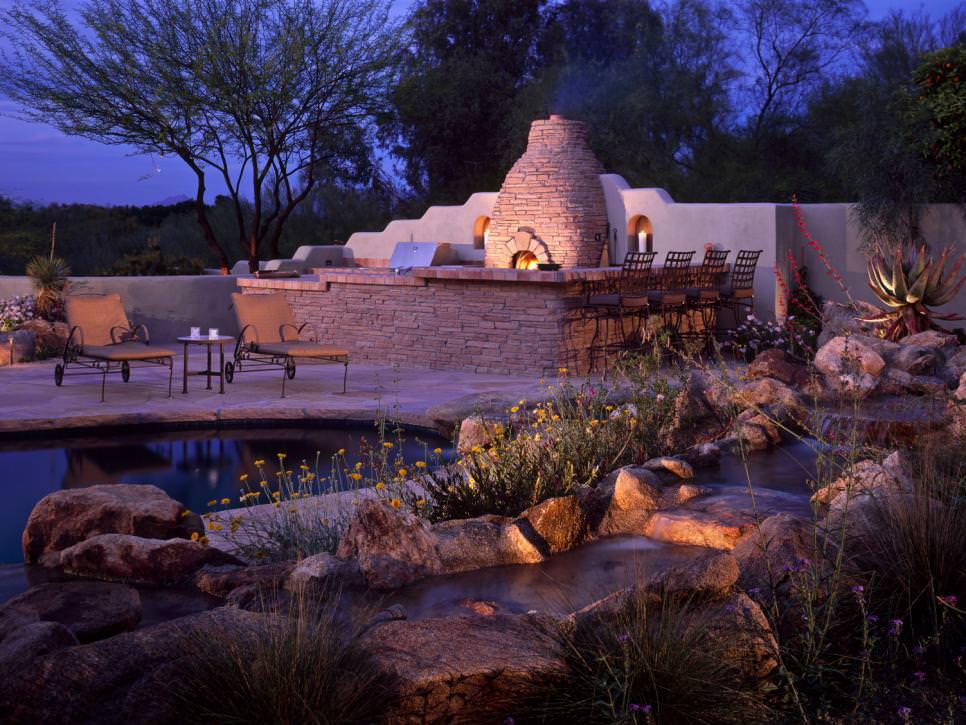 awesome backyard pond design