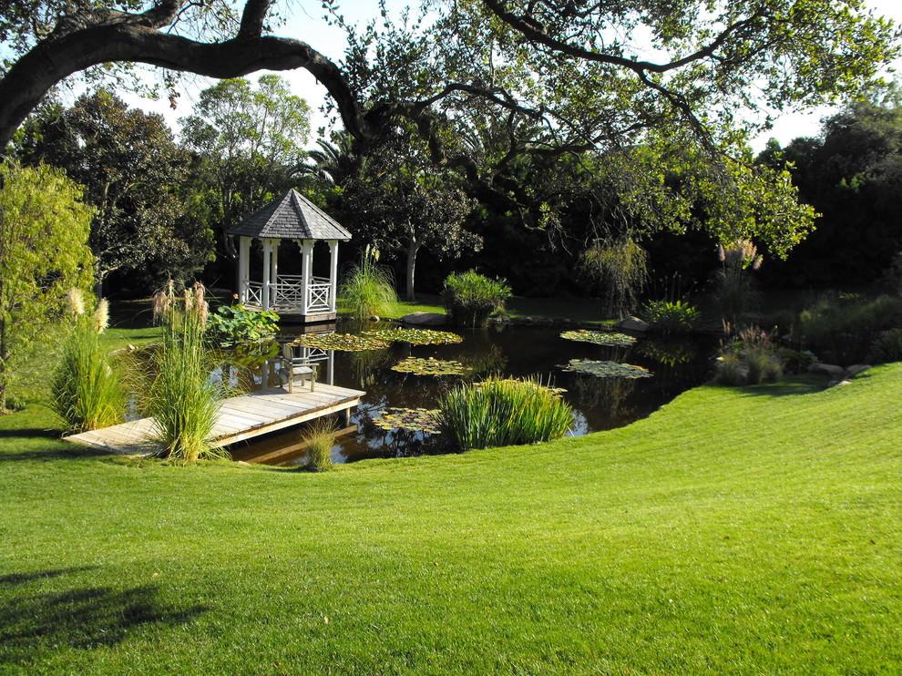 stunning backyard pond design