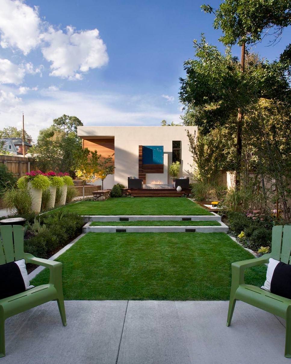 25+ Concrete Patio Outdoor Designs, Decorating Ideas ... on Backyard Patio  id=99098