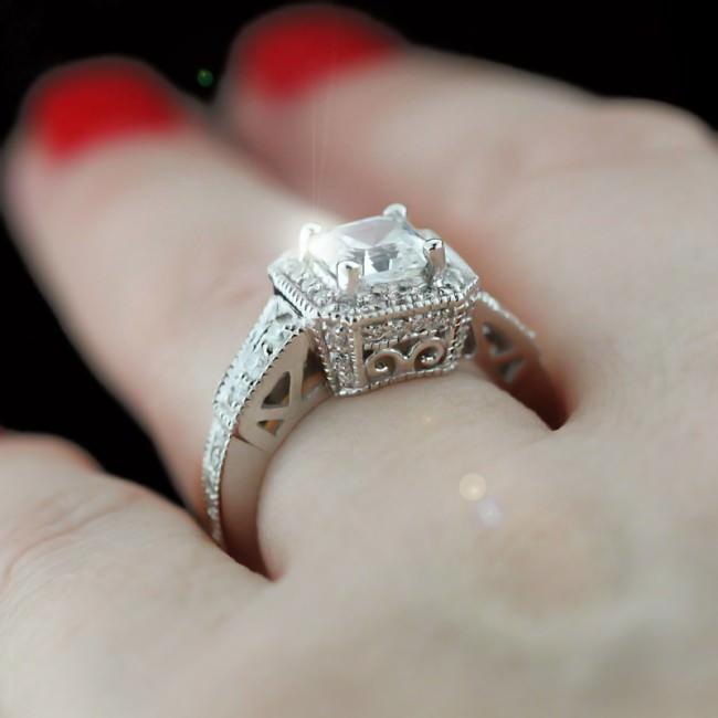 accented asscher engagement ring e1459920339522