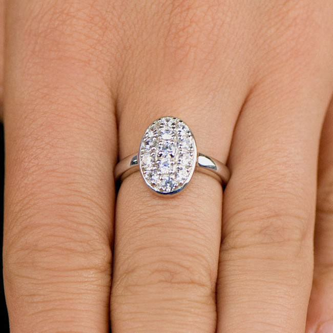 Oval Edwardian Style Engagement Rings