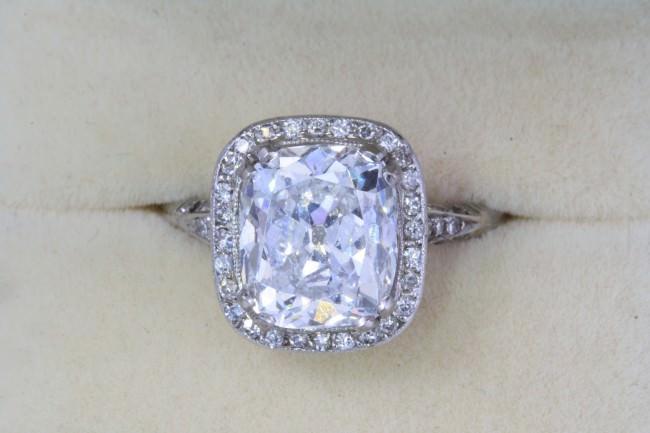 cusion cut diamond enagement ring e1459859272975