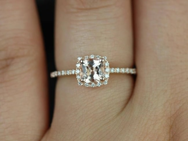 Diamond Cushion cut Engagement Rings can be the Perfect Choice