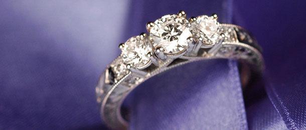 diamond engagement ring victoria