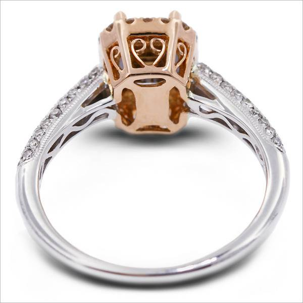 rose gold ring with different design