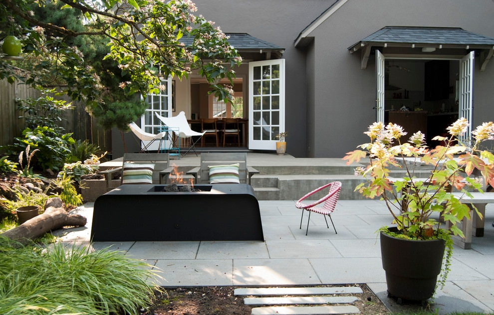 sassy paver patio design