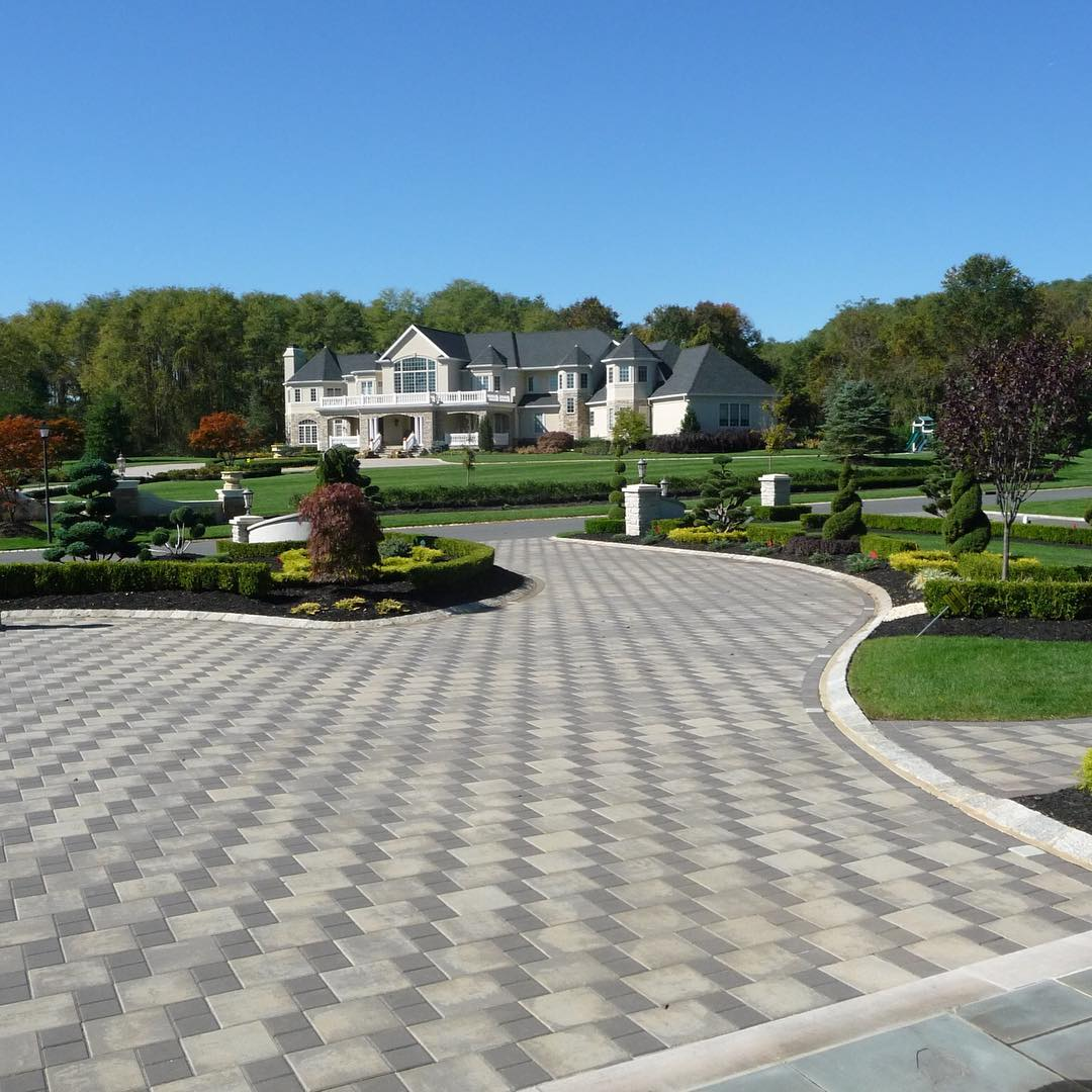 24+ Paver Patio Designs | Garden Designs | Design Trends ... on Brick Paver Patio Designs id=49663