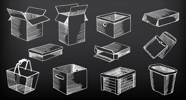 Shaded Box Icons