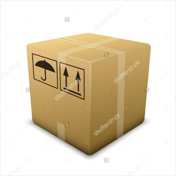 Vector Sealed Box Icon