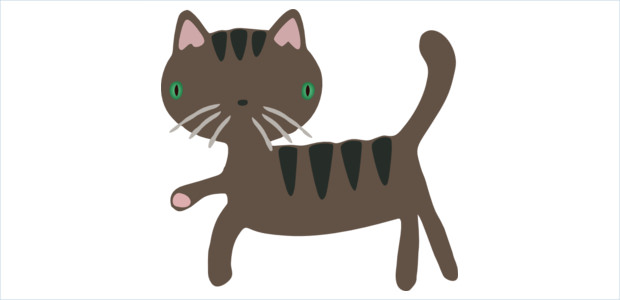 Brown Cat Clipart