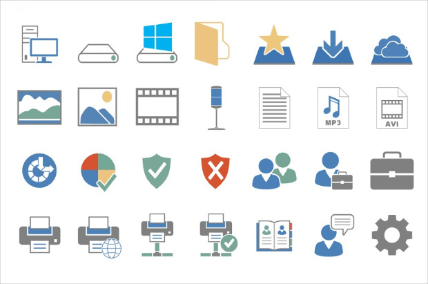 2013 Office Icons