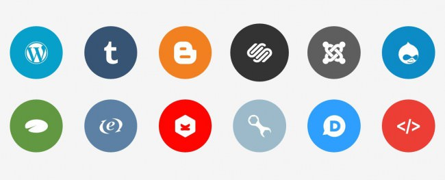 flat social icons including disque icon e1460023786265