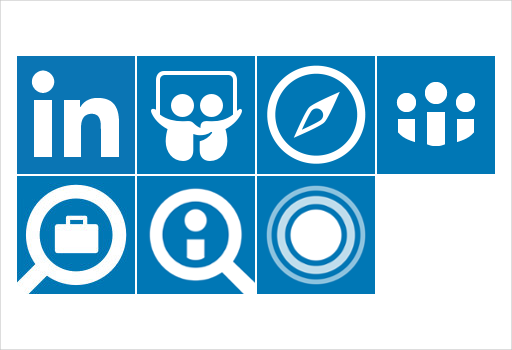 linkedin and linkedin plus icons