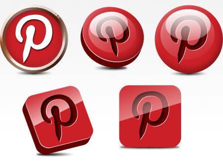 pinterest abstract icons download