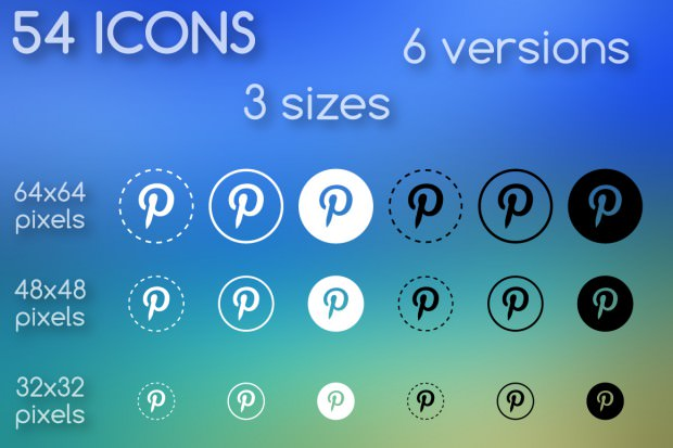 round outlined pinterest icon pack e1460012308176