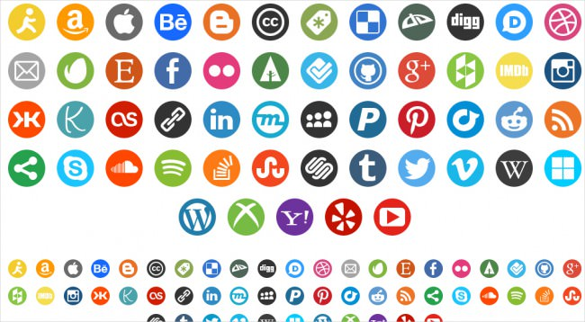 round social media icon set download e1459935060396