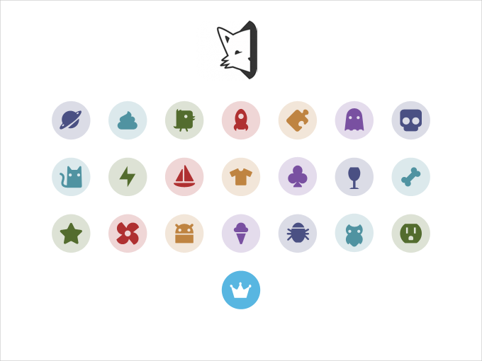 secret vector icons for apps