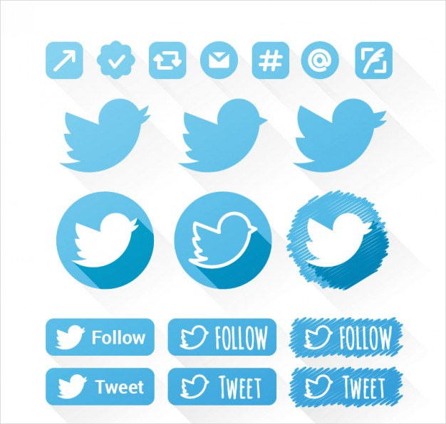 Twiter icons pack