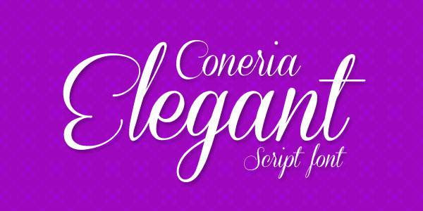 Coneria Best Beautiful Free Script Font