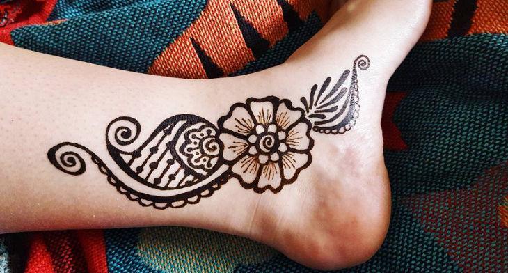 Mehndi Ankle Image : Henna ankle piece melissa banford flickr