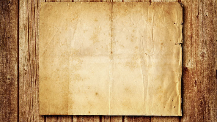 Wood And Paper Background