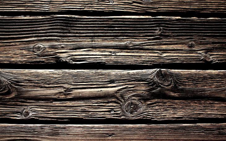 Patterned Hardwood Background