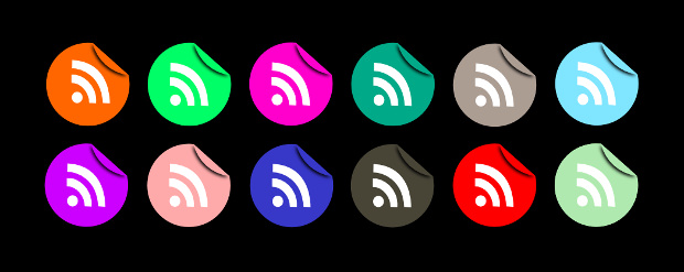 Modern RSS Icons