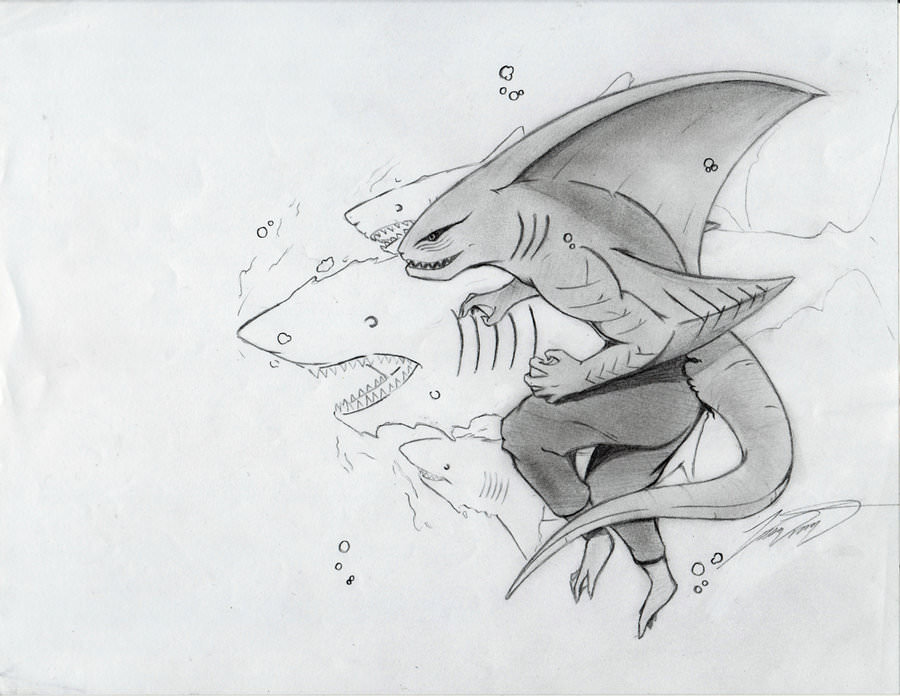 Kisame Shark Form