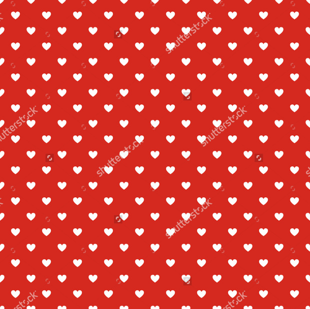 Polka Dot Red Pattern