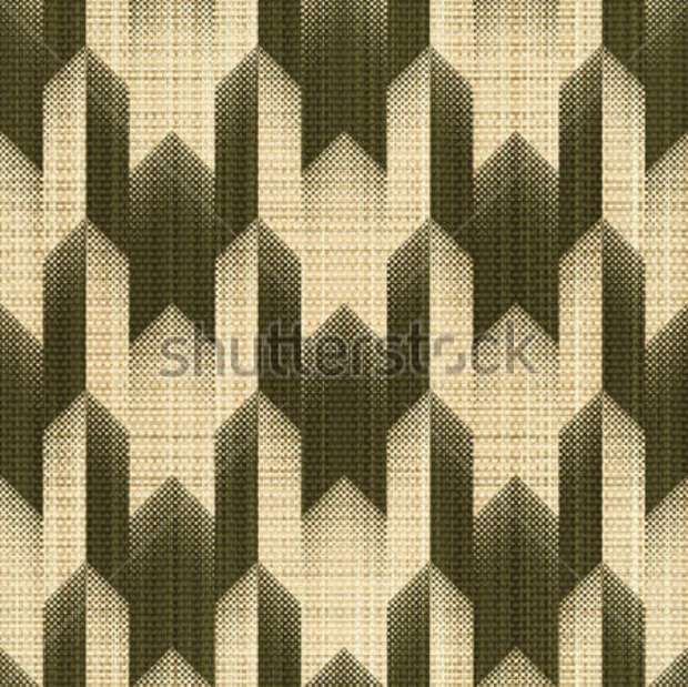 Houndstooth Ornament Print Pattern