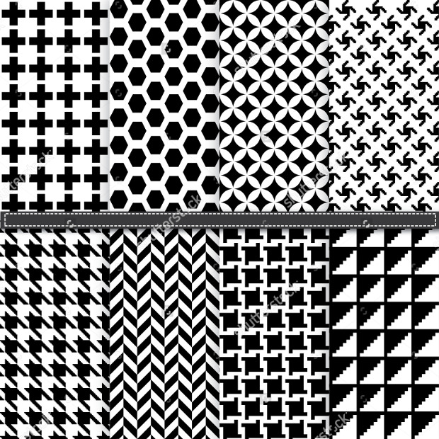 Houndstooth and Geometric Patterns