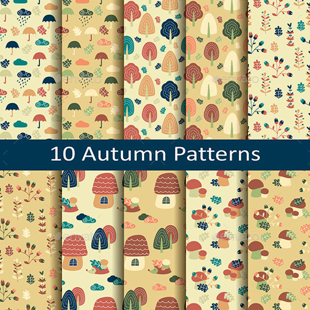 10 Colorful Funky Patterns