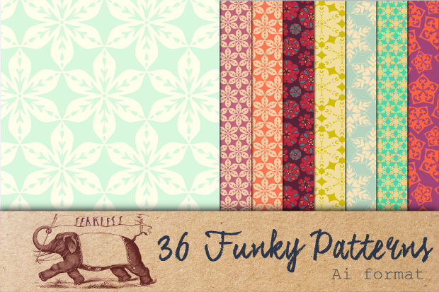 36 Various Funky Patterns