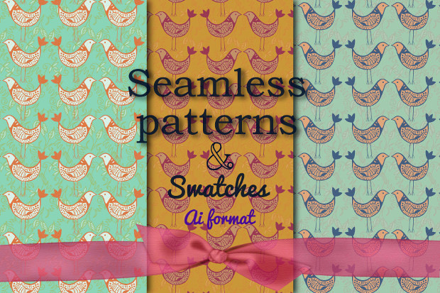 Seamless Dove Patterns