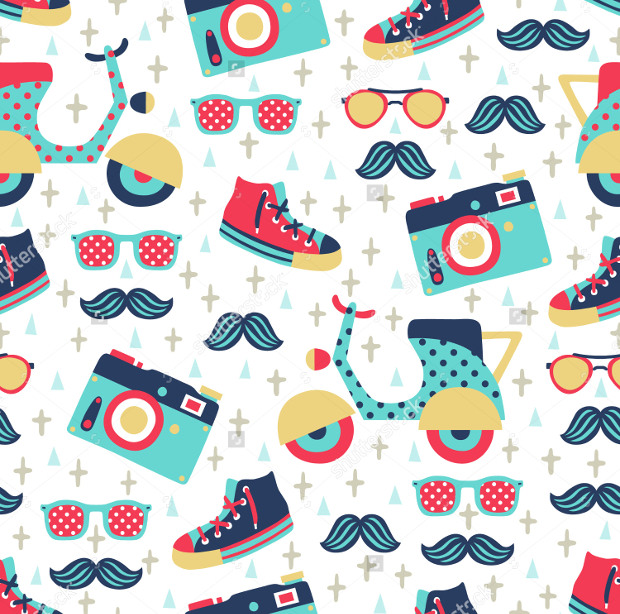 Hipster Funky Designs Pattern